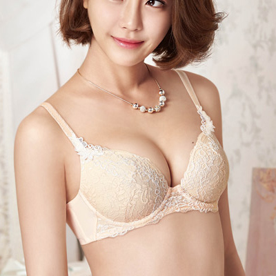 【華歌爾】女神的秘密 B-D罩杯內衣34/75B蜜粉膚