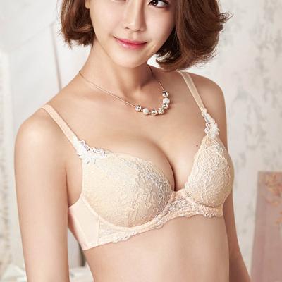 【華歌爾】女神的秘密 B-D罩杯內衣34/75D蜜粉膚