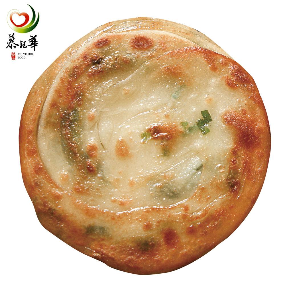 慕鈺華 黃金三星蔥油餅125g/5片x4