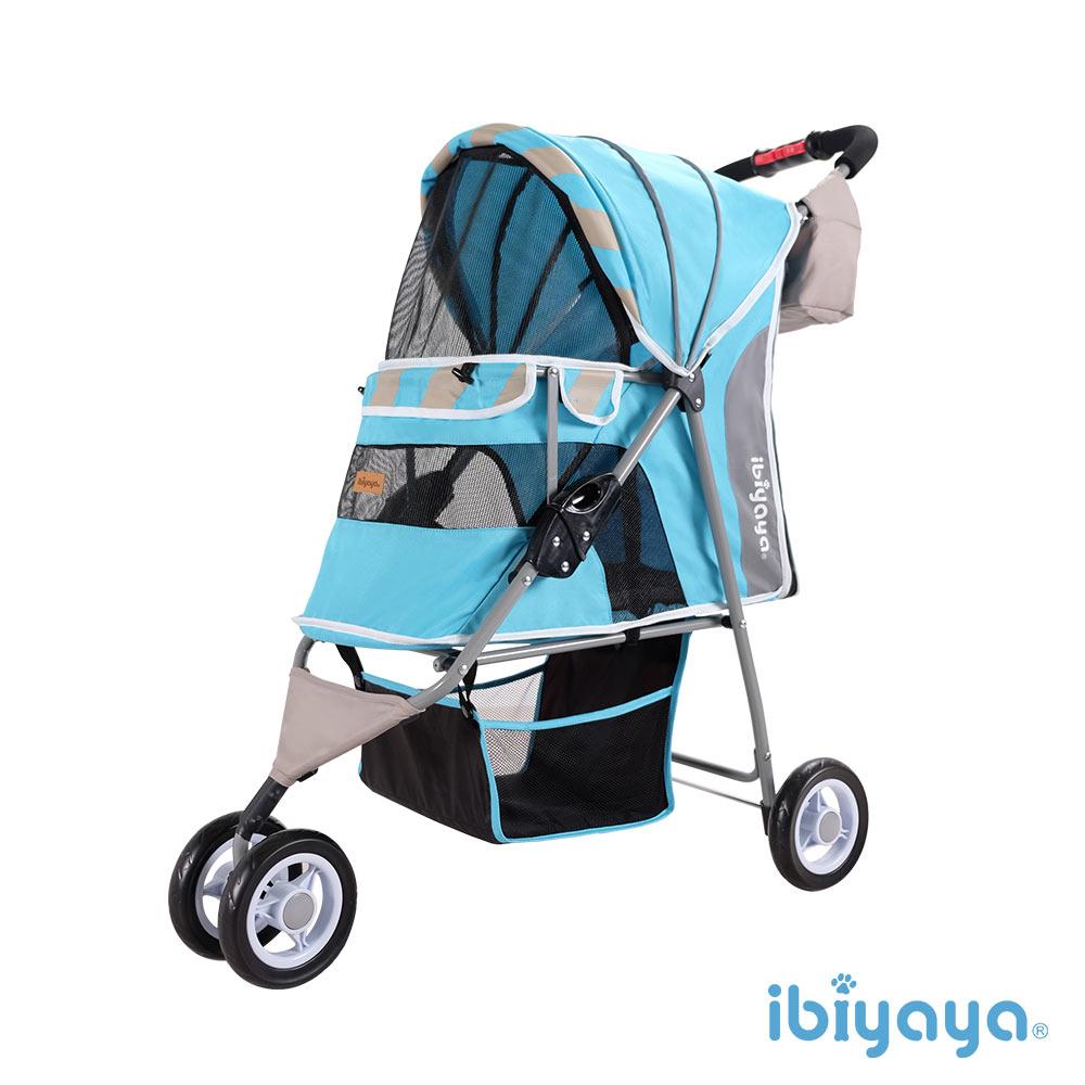 【IBIYAYA依比呀呀】FS1101S 繽紛午茶寵物三輪車-慕斯藍