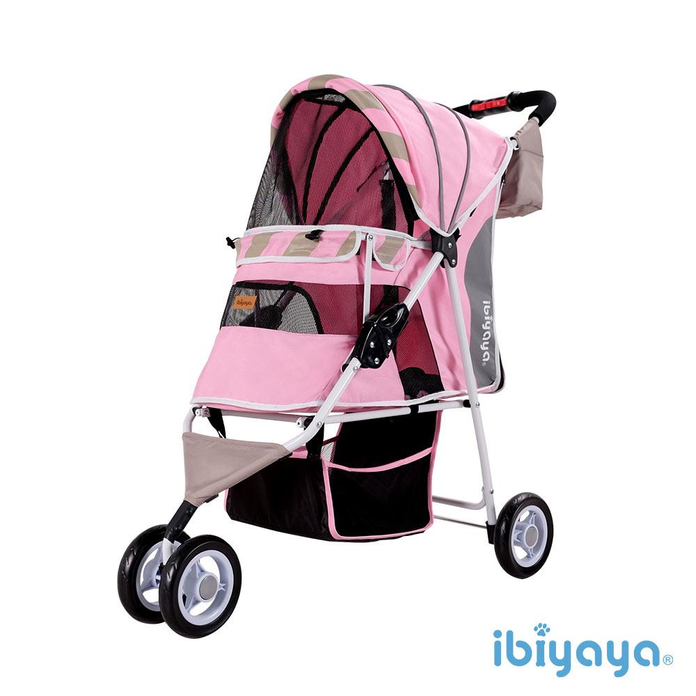 【IBIYAYA依比呀呀】FS1101S 繽紛午茶寵物三輪車-蜜糖粉