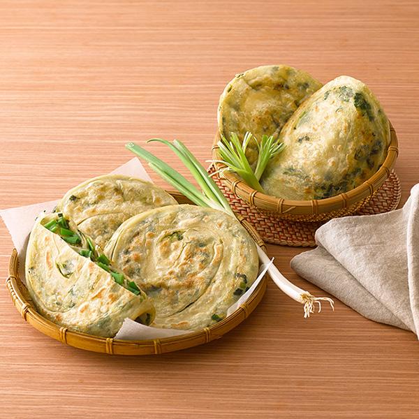 【禾圃原】手作蔥油餅(厚片蔥油餅10片+古早味蔥油餅10片)