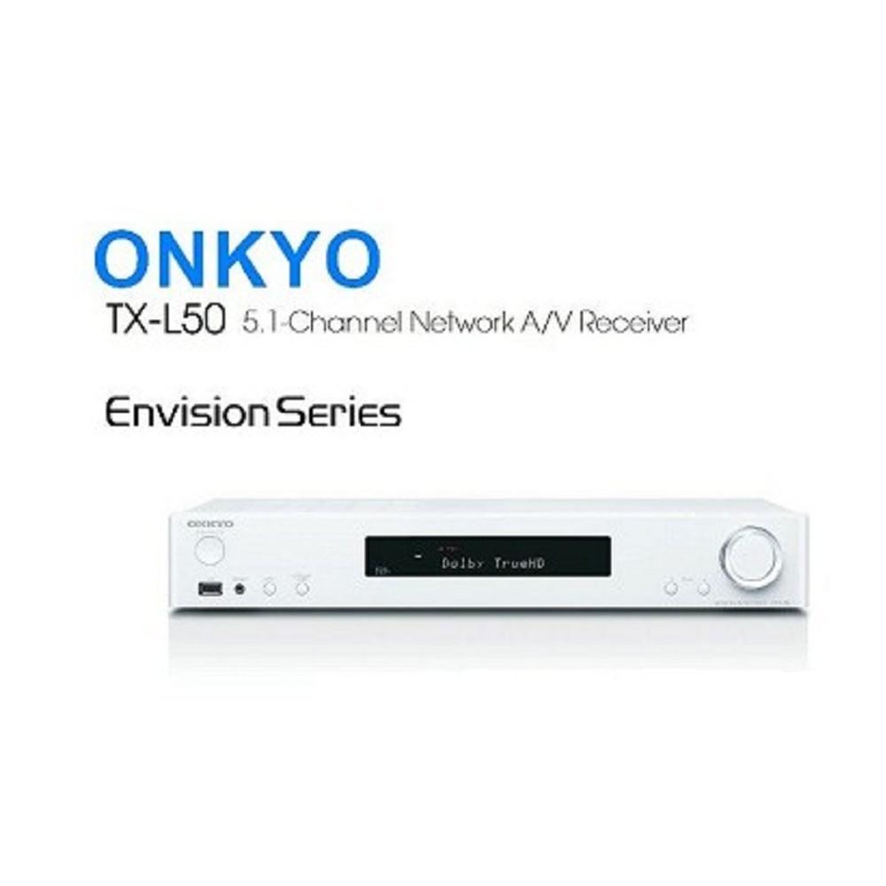 ONKYO TX-L50 薄型AV環繞擴大機 公司貨 (白色)