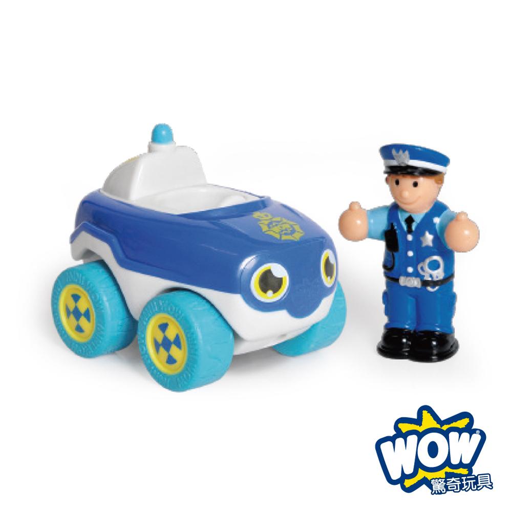 英國 WOW Toys 驚奇玩具 隨身迷你車 ~ 警車巴比