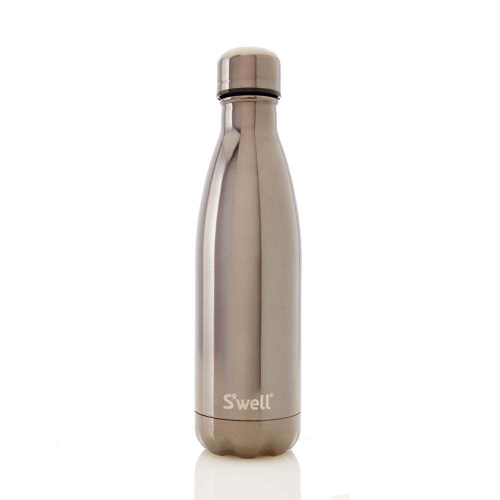 S'well Metallic COLLECTION-Titanium 17oz