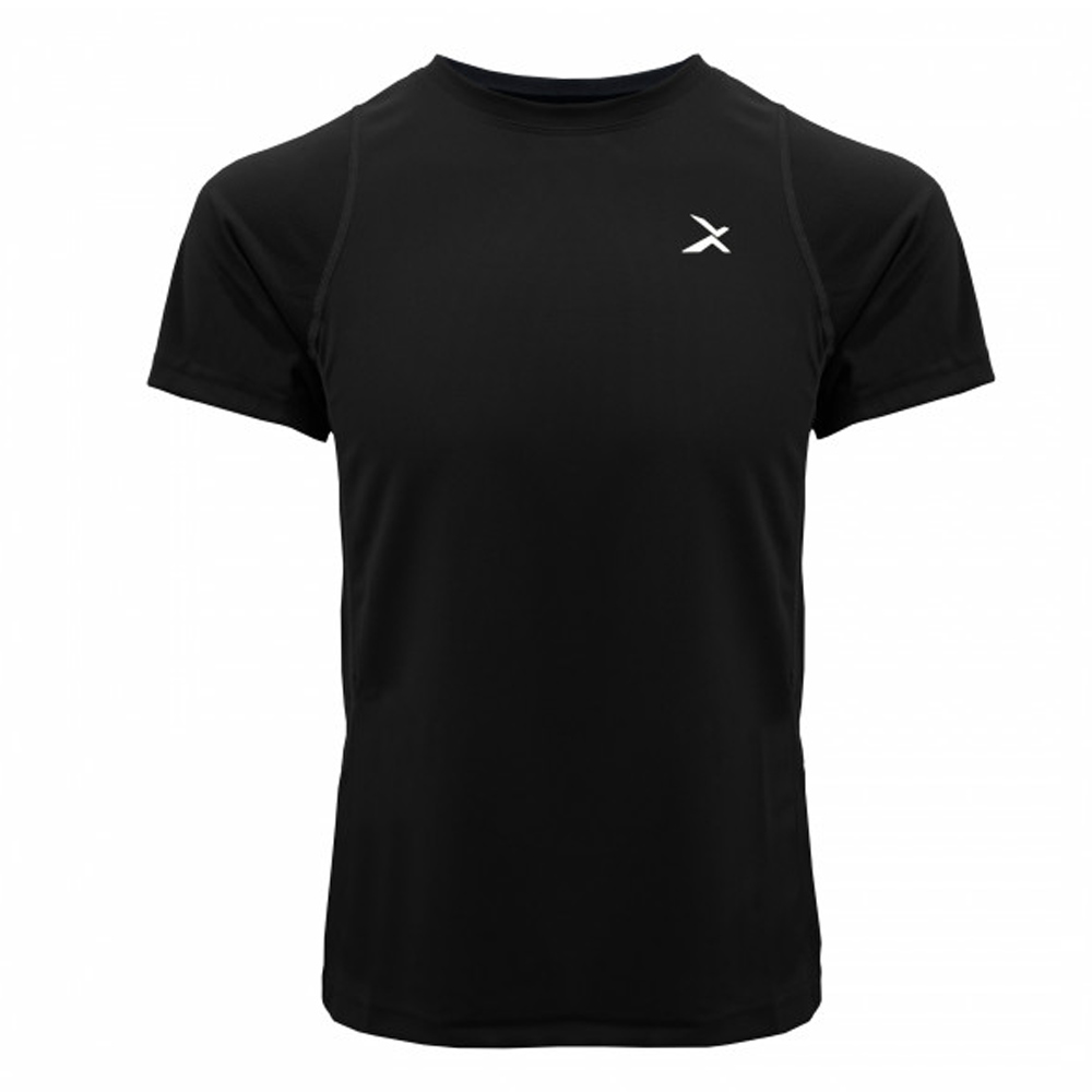 EGXtech EDS-EXT 男款涼感單導排汗短袖(尺碼3L黑)