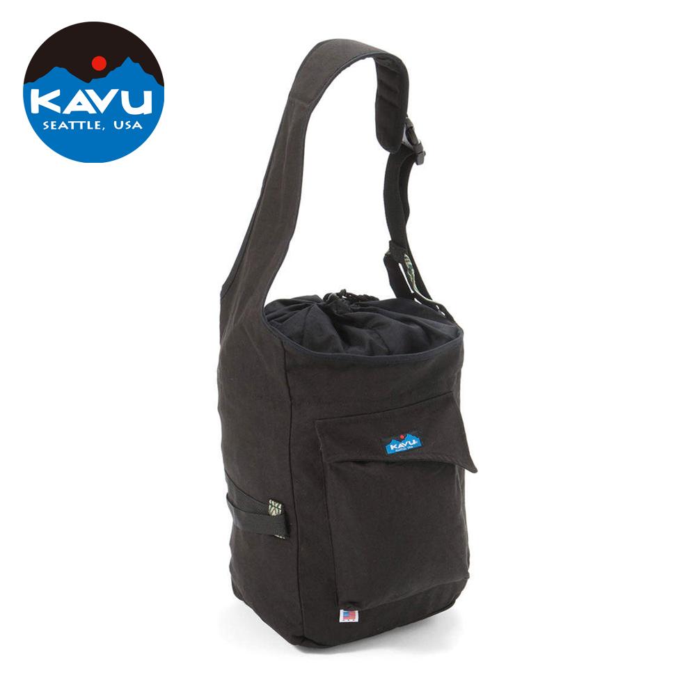 【日本限定款】西雅圖 KAVU Climbers Bag 復古休閒包 黑色 #920