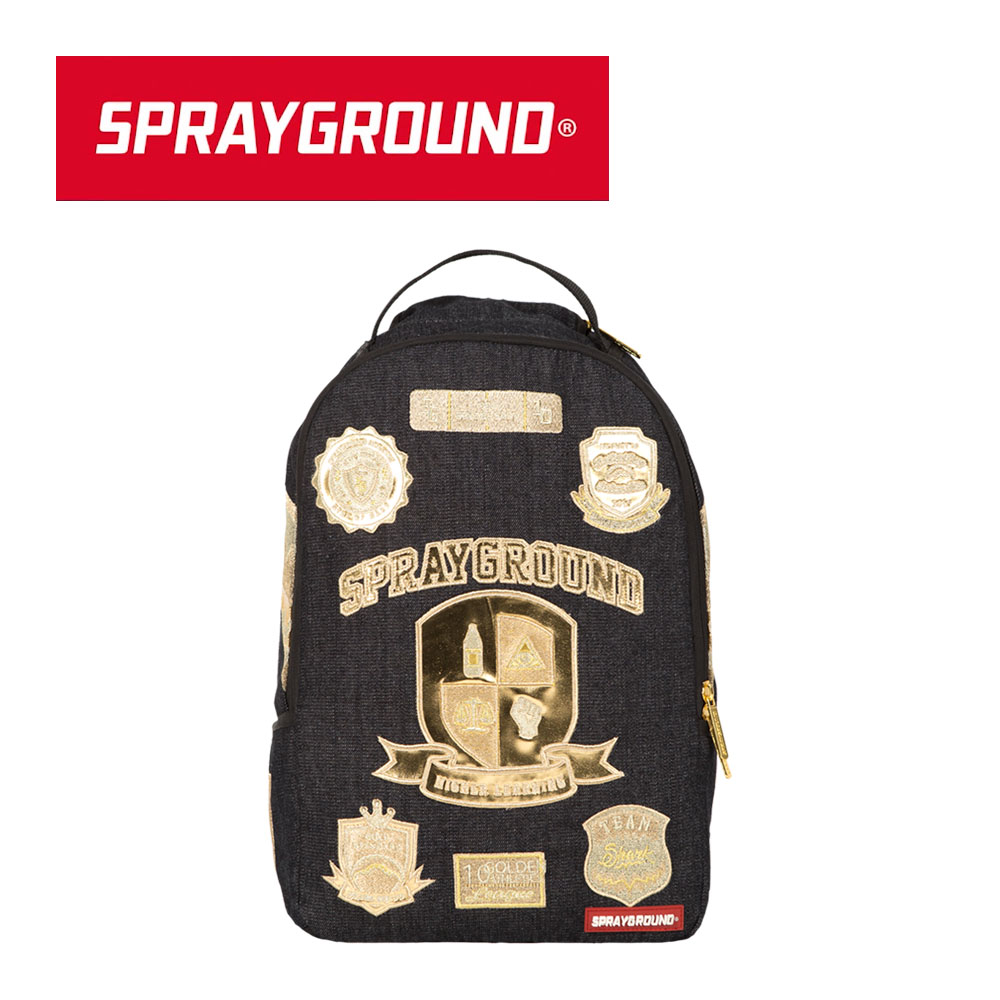 【SPRAYGROUND】DLX 系列 Ivy League 常春藤聯盟潮流筆電後背包