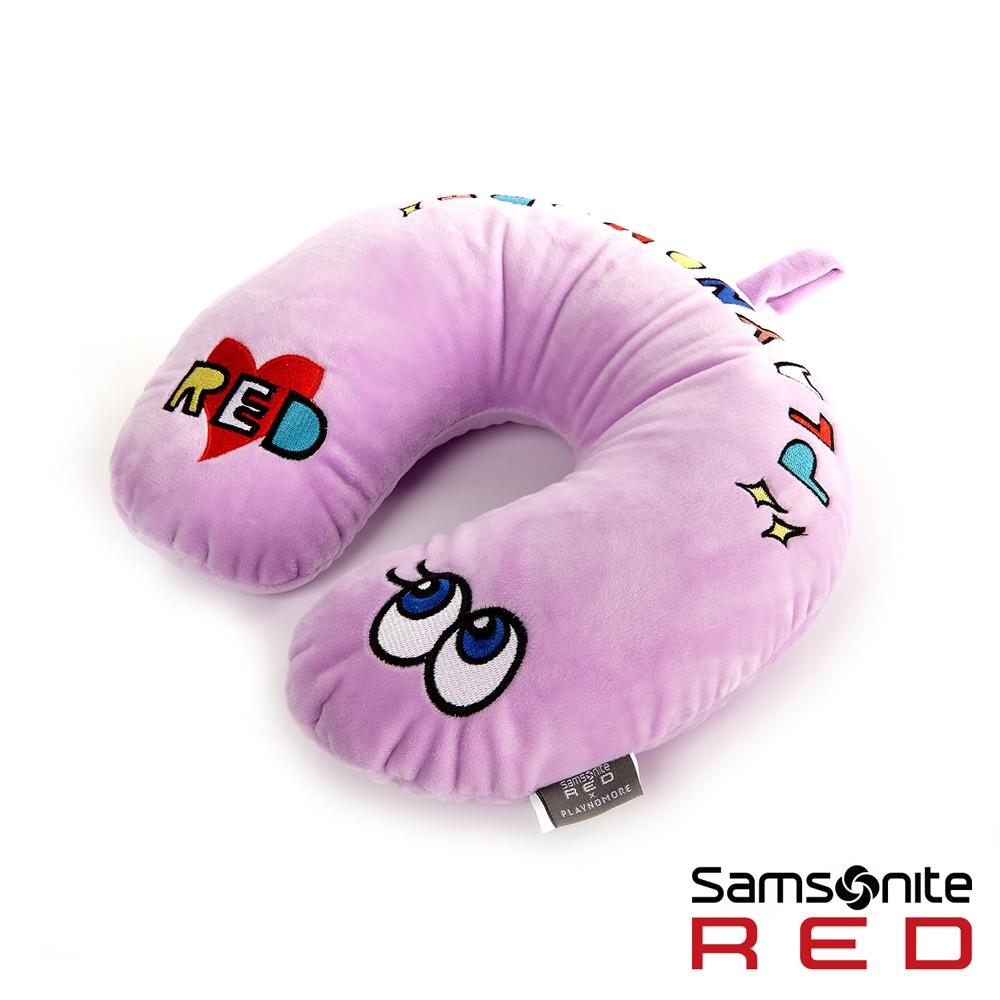 Samsonite RED新秀麗 Playnomore 聯名限量款 頸枕(紫)