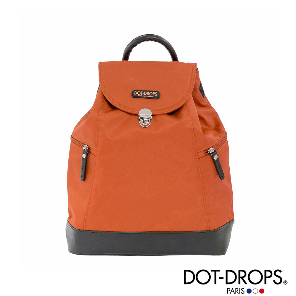 DOT-DROPS 漾彩輕巧後背包 (橘色)