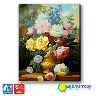 ~Manto~ 製x數字油畫~典雅馨香 40x50cm