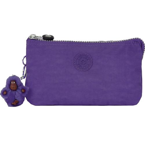 KIPLING 三層手拿包-紫色 (現貨+預購)紫色
