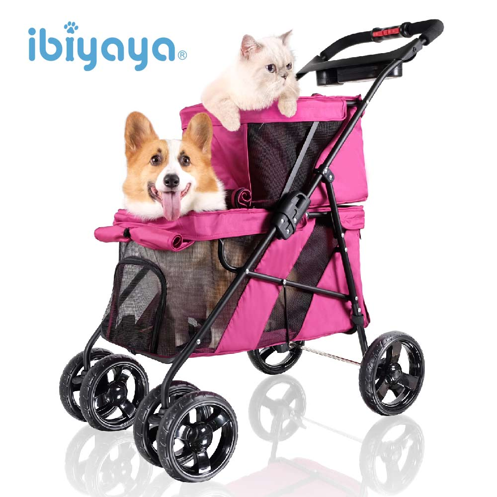 【IBIYAYA依比呀呀】FS1770雙層子母寵物小巴羅曼紅