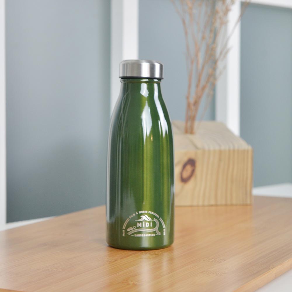 CB Japan MiDi 城市系列雙層 保冷保溫瓶350ml~橄欖綠