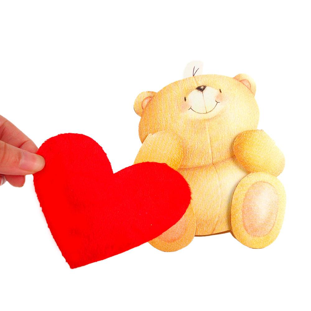 我心裡的愛是這麼大~Hallmark~ForeverFriends~立體卡片 甜言蜜語~