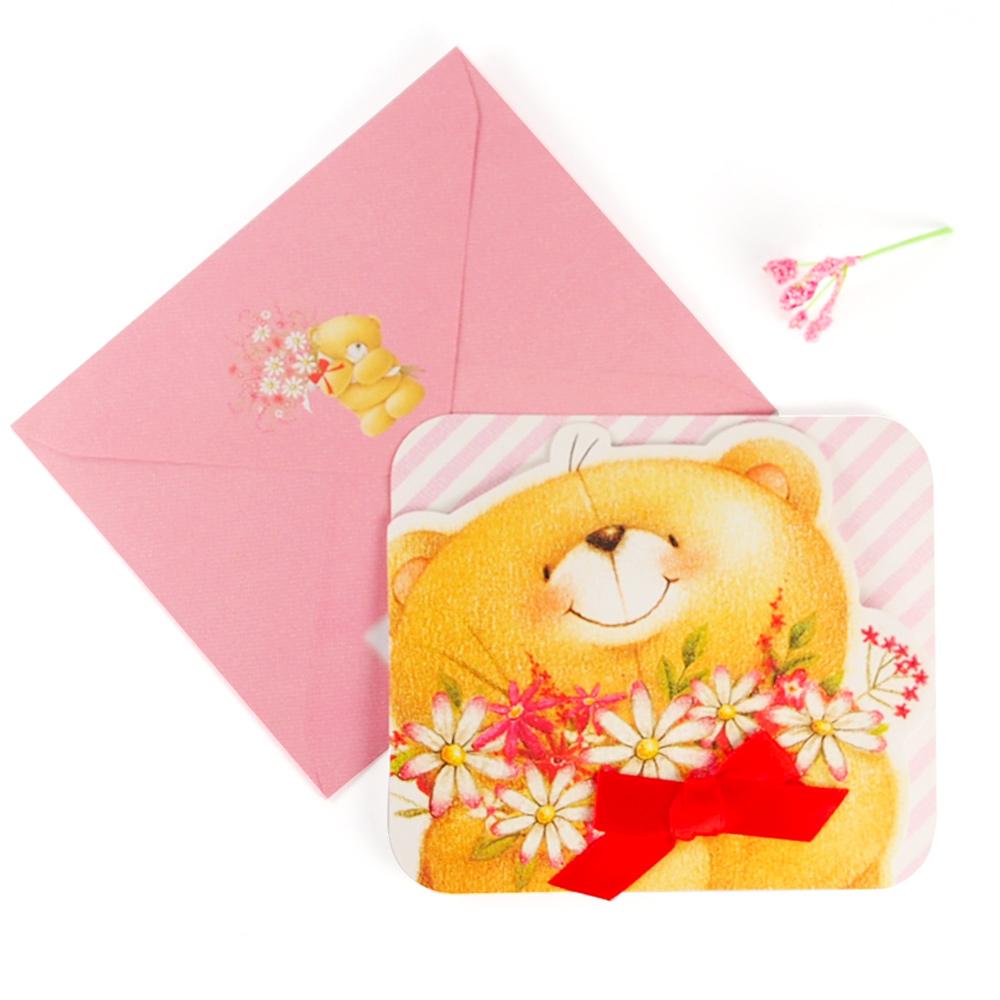 特別為你準備一束花~Hallmark~ForeverFriends~立體卡片 甜言蜜語~