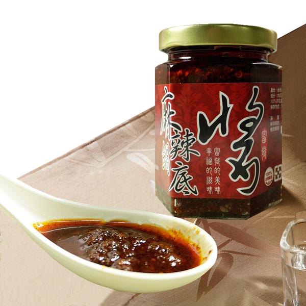 【那魯灣】富發麻辣鍋底醬 6罐(160g/罐)