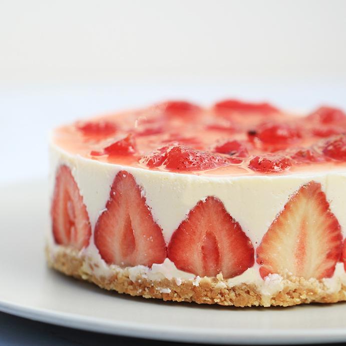 【大目農田】草莓乳酪蛋糕-難忘的愛戀滋味(含運)