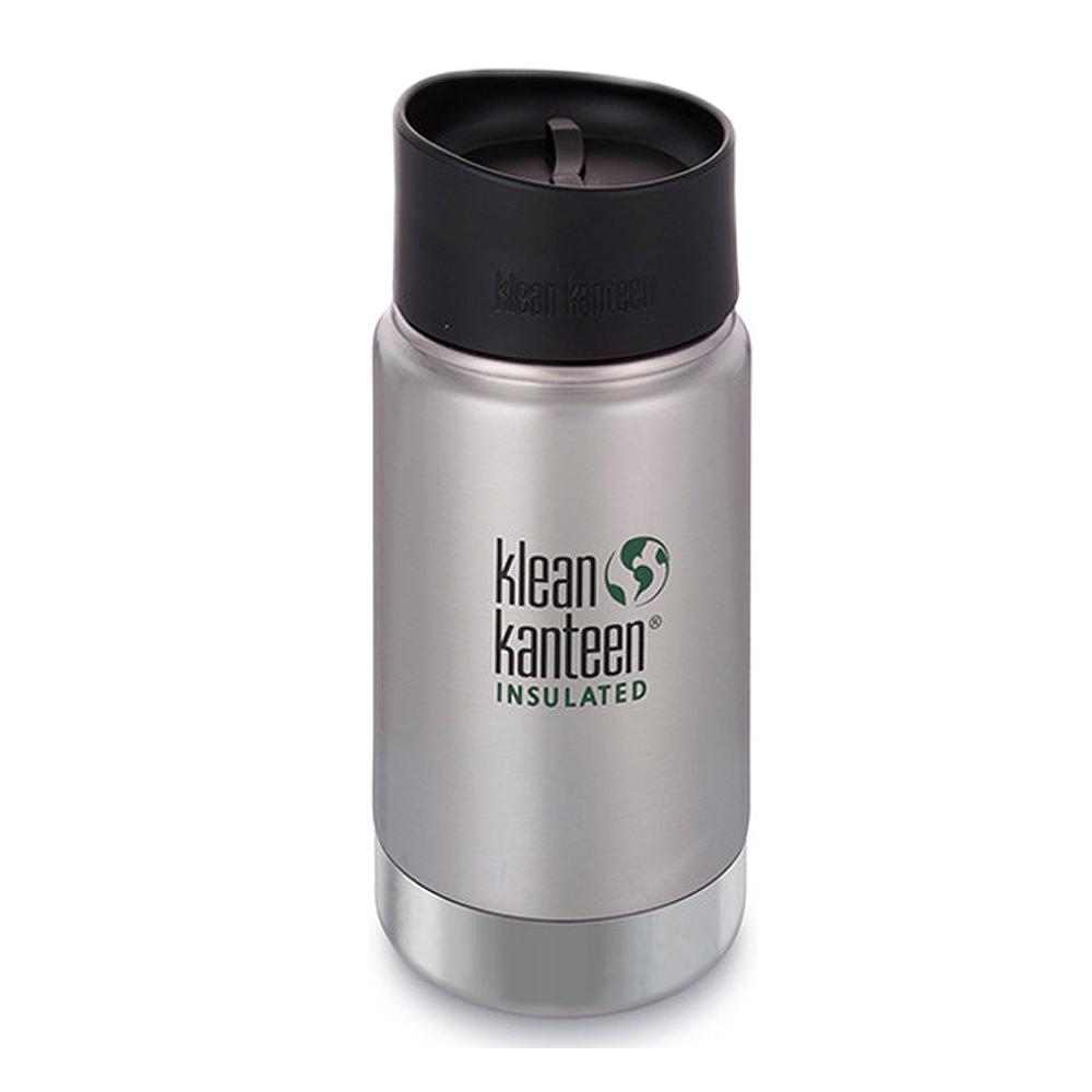 美國Klean Kanteen寬口保溫鋼瓶355ml~原色鋼