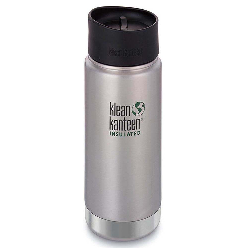 美國Klean Kanteen寬口保溫鋼瓶473ml~原色鋼