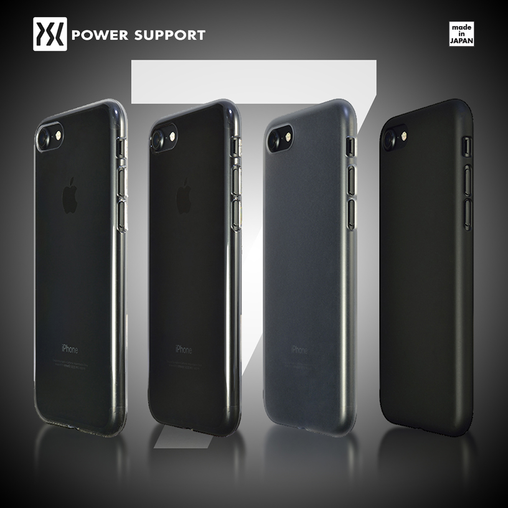 POWER SUPPORT iPhone7 Air jacket 超薄保護殼 無保貼 霧透