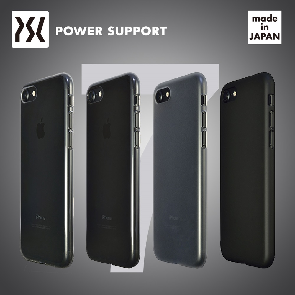 POWER SUPPORT iPhone7 Plus Air jacket 超薄保護殼 無