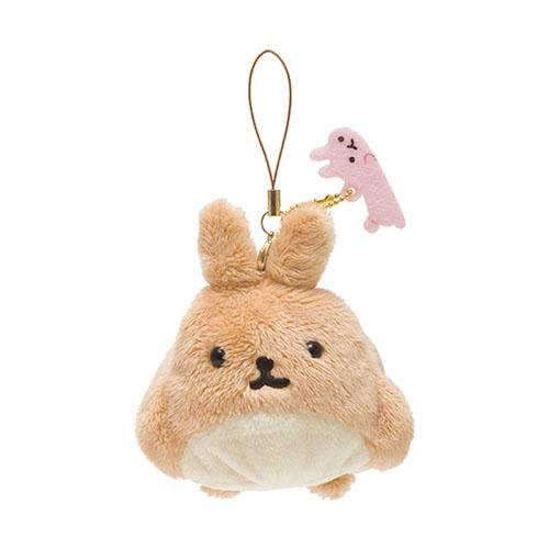 San-X 麻糬兔兔子朋友系列毛絨公仔吊飾。薯片