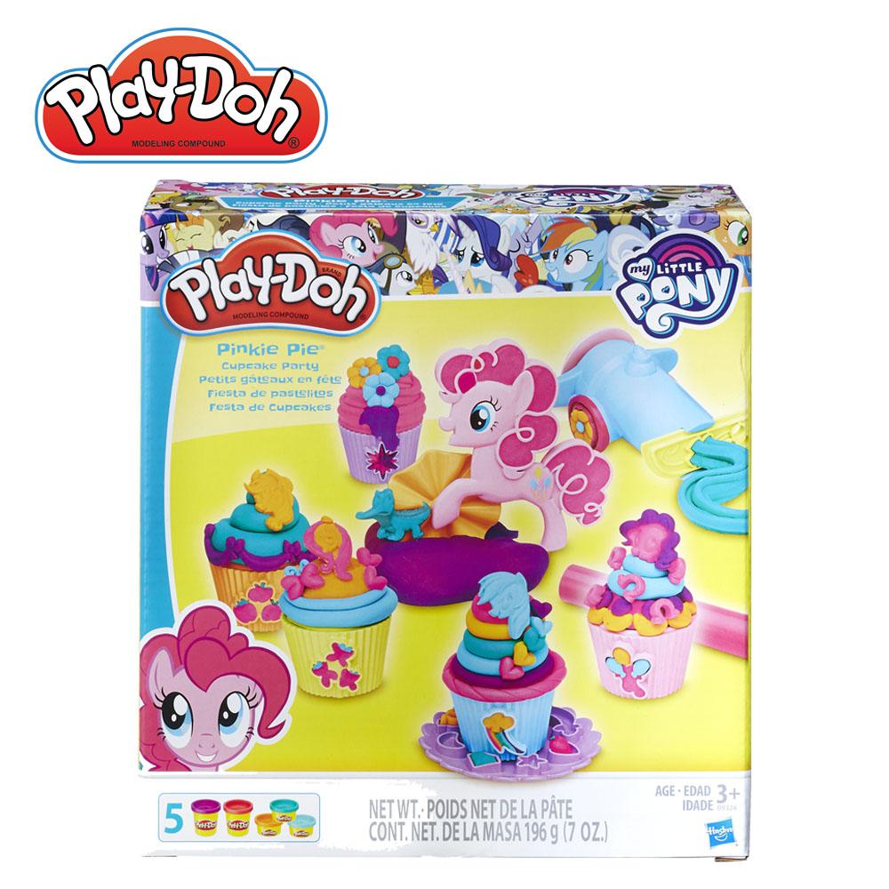 PlayDoh~培樂多~彩虹小馬碧琪杯子蛋糕派對