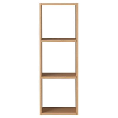 [MUJI無印良品]自由組合層架/橡木/3層/基本組.7S