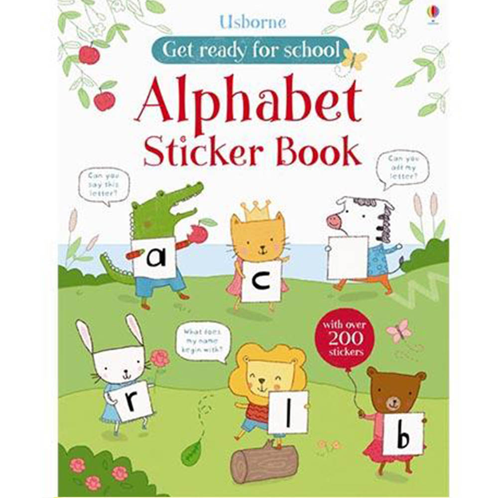 Alphabet Sticker Book 字母練習貼紙書 外文書