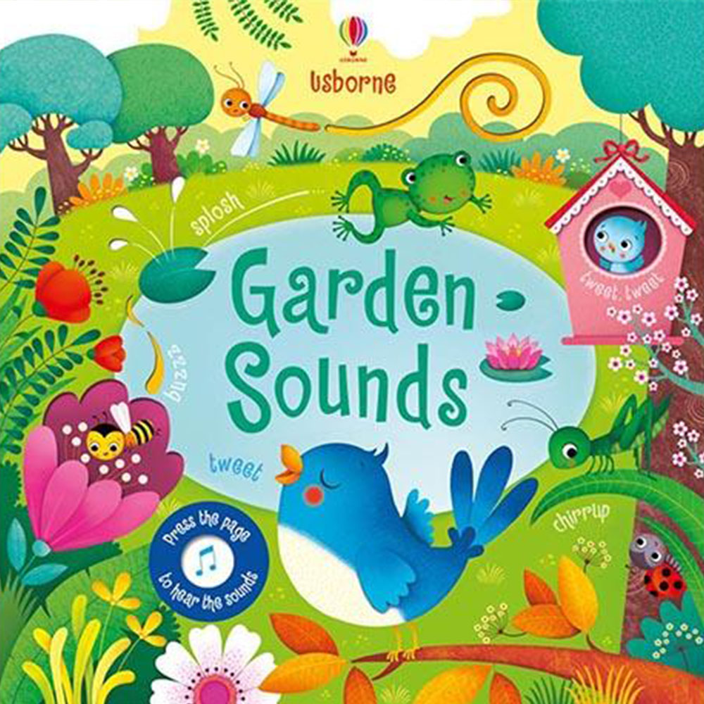 Touchy~Feely Sound Books:Garden Sounds 花園聲音 觸