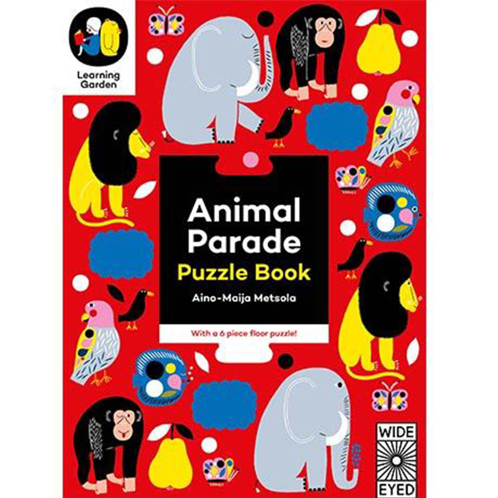 Animal Parade:Puzzle Book 動物拼圖書 外文書