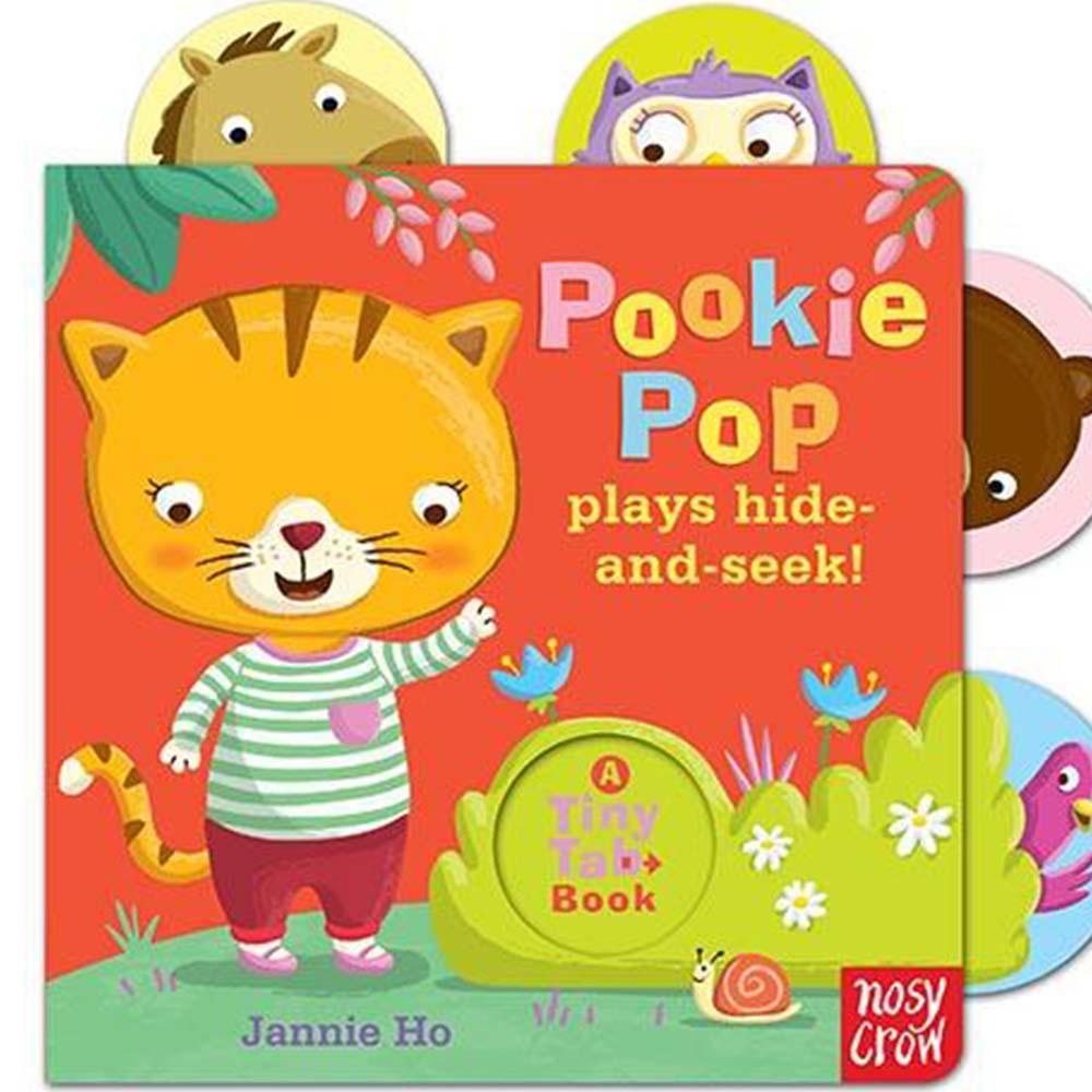 Tiny Tabs:Pookie Pop Plays Hide And Seek 小貓Po