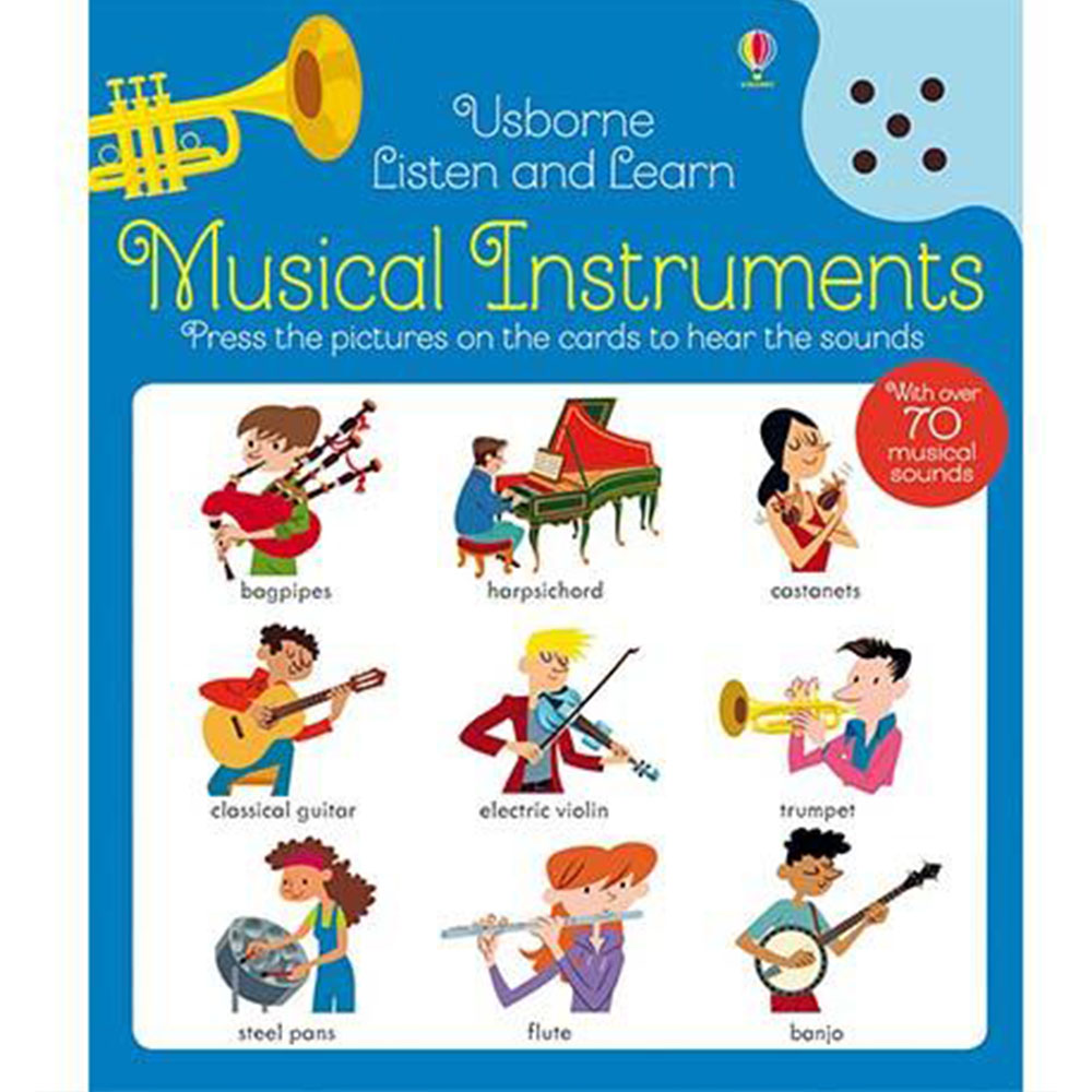 Listen And Learn Musical Instruments 認識樂器 聽說學