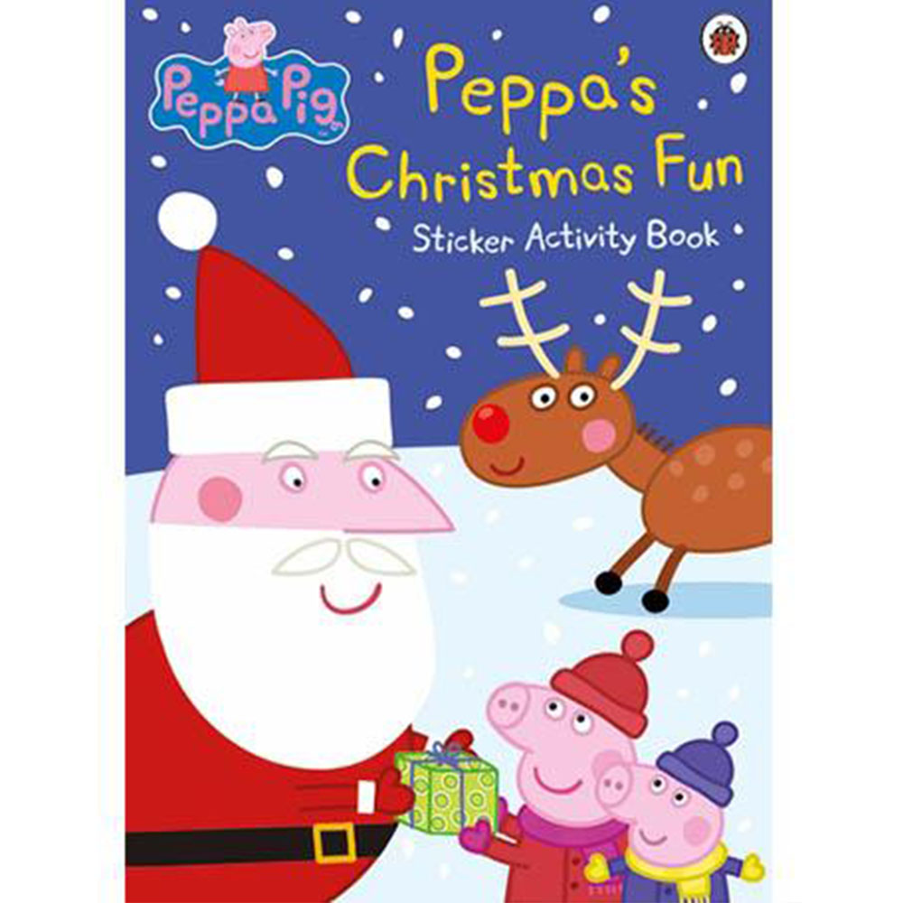 Peppa Pig:Peppa's Christmas Fun Sticker Activ