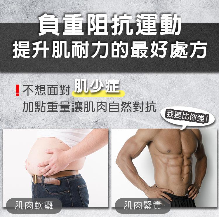 負重阻抗運動,提升肌耐力的最好處方