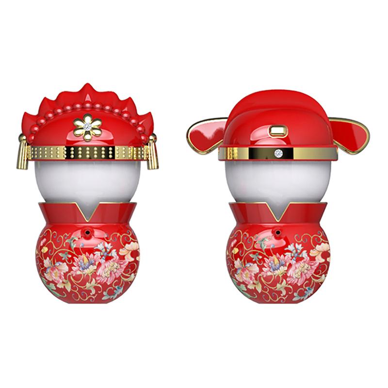 囍悅-天作之合茶器組(2壺2杯)