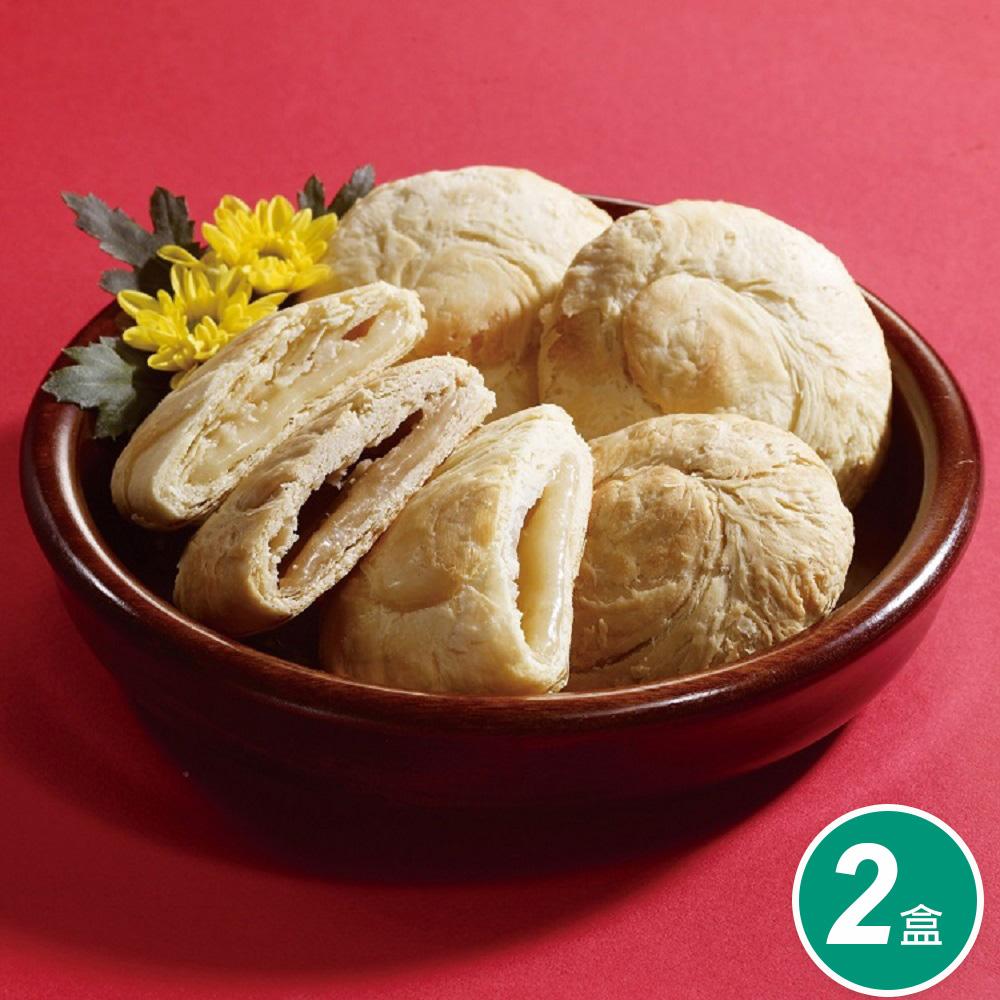 【太陽堂烘焙坊】綜合太陽餅禮盒2盒組(12入/盒 附提袋)