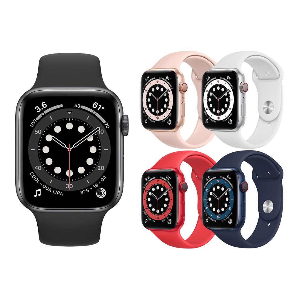 Apple Watch Series 6 (GPS+行動網路版)