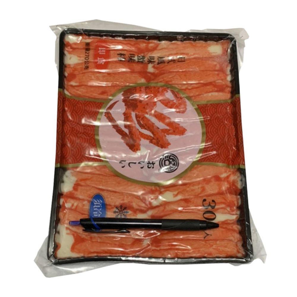 【急凍饗宴】日式風味蟹味棒 可即食(30支/包 270g)