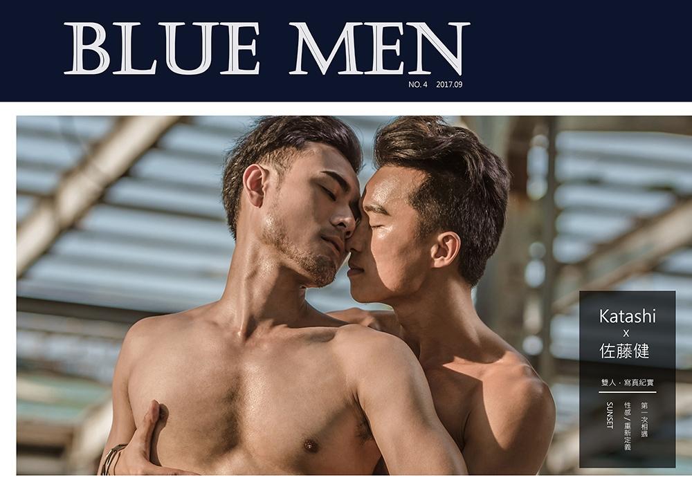 BLUE MEN 寫真紀實 NO.04 Katashi x 佐藤健