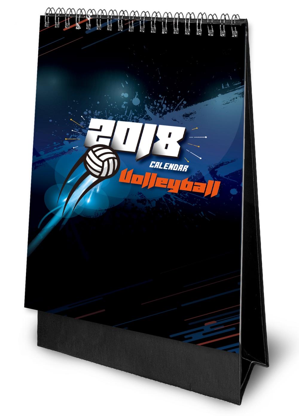臺灣排球健將 2018桌曆
