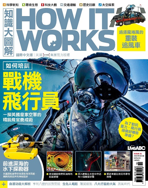 How it works知識大圖解 國際中文版一年12期+青林5G智能學習寶第一輯:啟蒙版 + 進階版 + 強化版